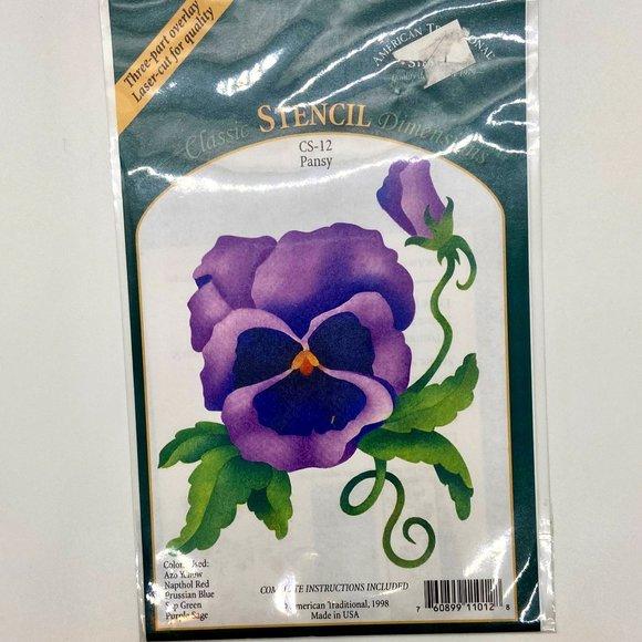 Stenciling Stencils Flowers